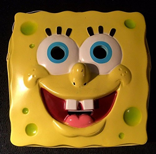 Spongebob Squarepants Cartoon PVC Mask Child Size Rubies Halloween Dress Up