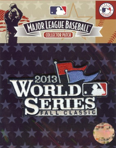 Emblem Source 2013 MLB Baseball World Series Logo Official Jersey Sleeve (Game Official Mlb Baseball Jersey)