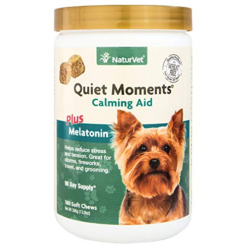 NaturVet - Quiet Moments Calming Aid for Dogs -...