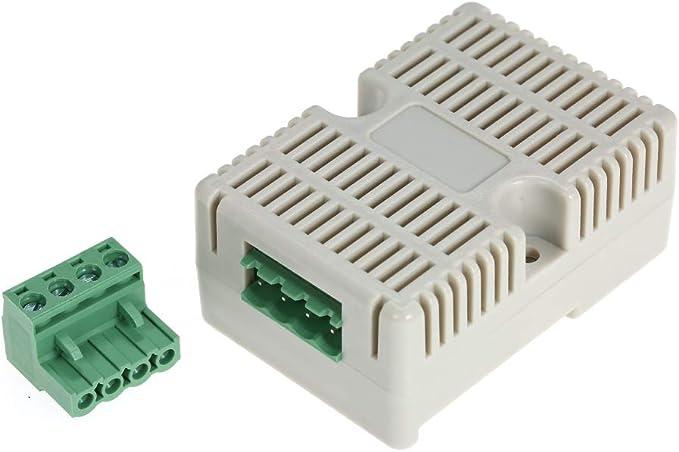 Leepesx Transmetteur dhumidit/é temp/érature RS485 Capteur de temp/érature Modbus-TRU RS485 Capteurs de temp/érature et dhumidit/é