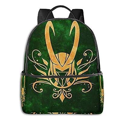 Loki Laufeyson School Bag, college Boy And Girl Backpack, computer Bag 15 Inch: Clothing