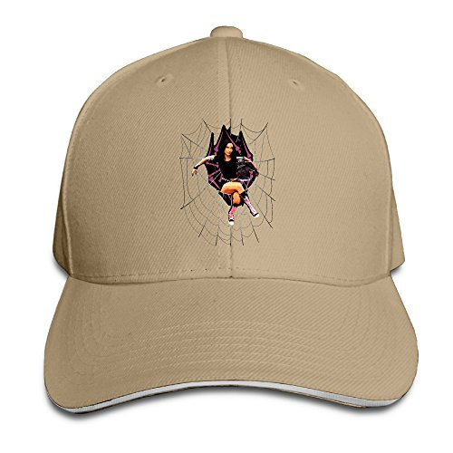 Sandwich Fitted Hats Men' Fitted Hat With Aj Lee WWE Diva New (Wwe Diva Outfits)