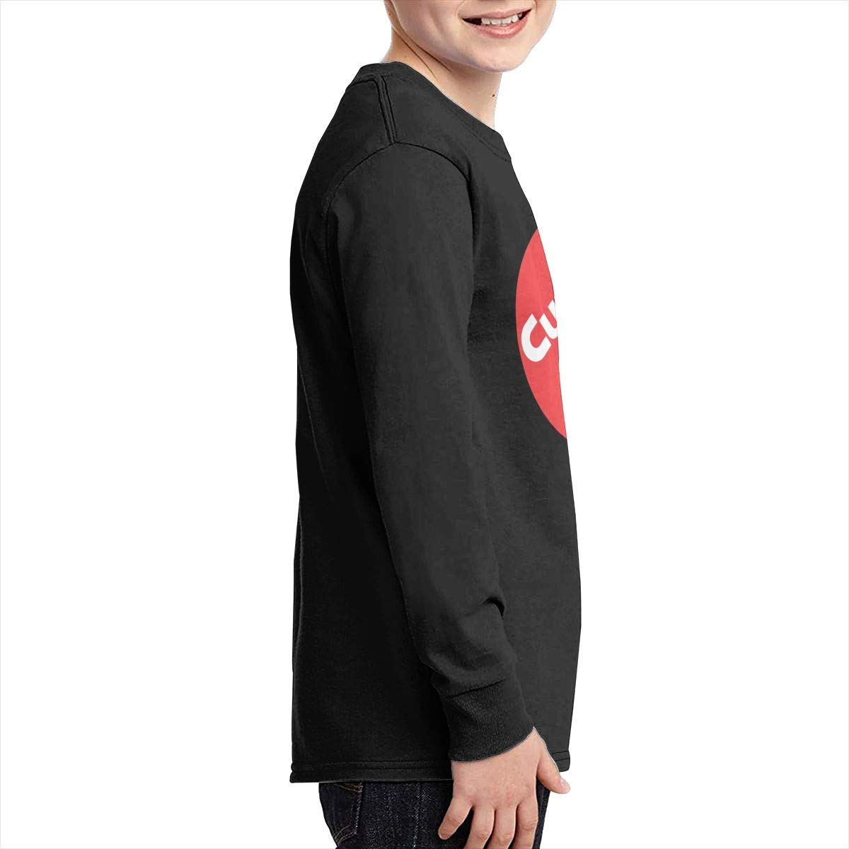 Kilsd Boys /& Girls Junior Funny Cummins Long Sleeve Tees Black