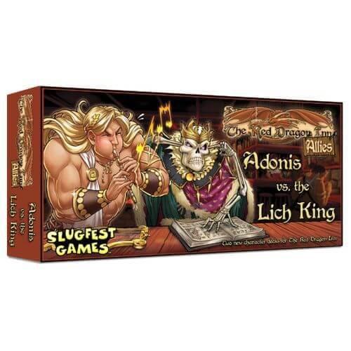 Slugfest Games Dragon Allies Adonis Board
