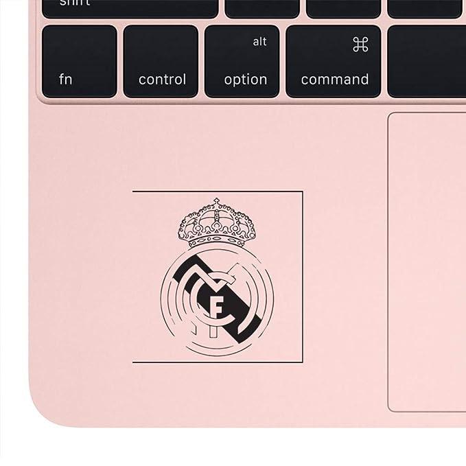 Amazon.com: NBFU DECALS LA LIGA FC Real Madrid Black N White Logo (Black) (Set of 2) Premium Waterproof Vinyl Decal Stickers for Laptop Phone Accessory ...