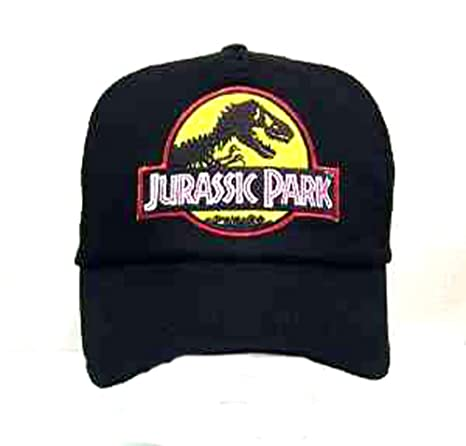 d5394ae9a96 Amazon.com  Jurassic Park Baseball Cap with Embroidered Patch  Sports    Outdoors