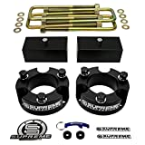 Supreme Suspensions - Toyota Tacoma Full Lift Kit 3'' Front Strut Spacers + 2'' Rear Lift Blocks + Extended U-Bolts