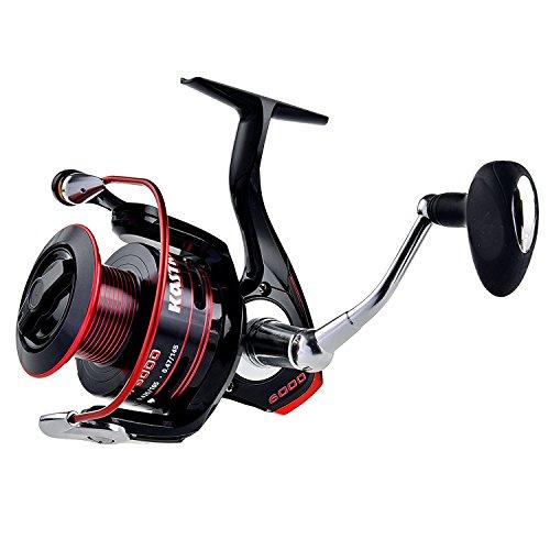 Kastking sharky ii fishing reel smooth spinning reel for Shark fishing rod and reel combo