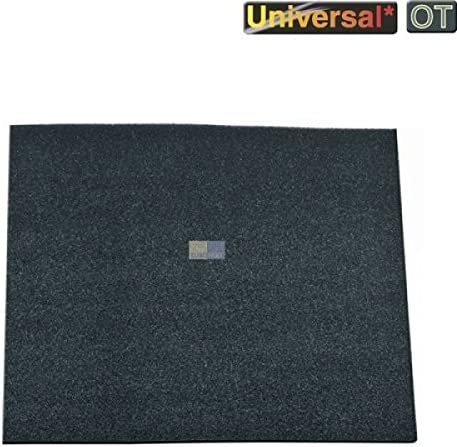 Filtro de carbón Matte 570 x 470 mm 400 g/m² Electrolux, universal ...