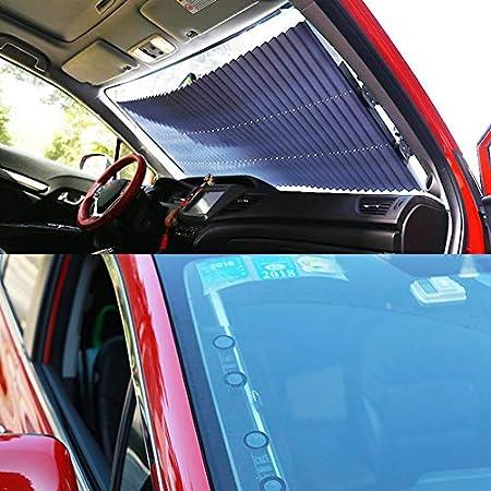 Amazon.es: Candybush Parabrisas del Coche Parasol retráctil Cortina Aislante contra el Sol Protección UV Cubierta Protectora contra el Sol Sombra Aislante ...