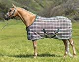 Kensington Platinum SureFit Protective Fly Sheet for Horses - SureFit Cut with Snap Front Chest Closure - Made of Grooming Mesh This Sheet Offers Maximum Protection Year Round - 69'' Deluxe Hunter