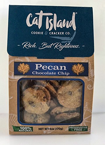 Pecan Chocolate Chip Cookies - 6 oz. Real butter, rich chocolate chips with roasted pecan pieces
