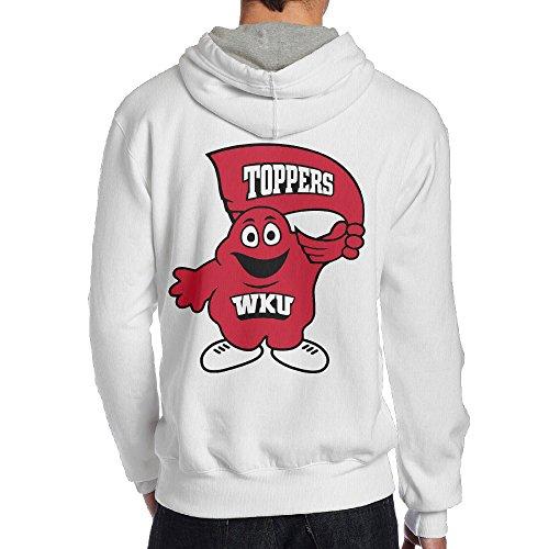 UFBDJF20 Western Kentucky University Hoodie For Men XXL White