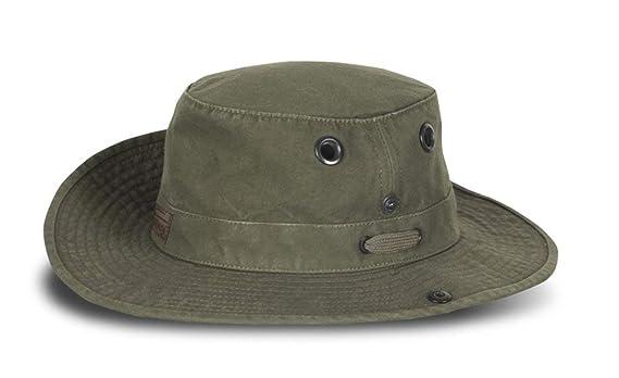 b374c8af3d1 Tilley T3 Wanderer Cotton Duck Medium Brim Hat  Amazon.co.uk  Clothing