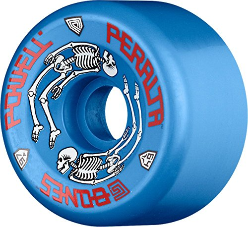 安全影響音Powell G Bones Ii 97a 64mm Blue Skate Wheels by Powell-Peralta