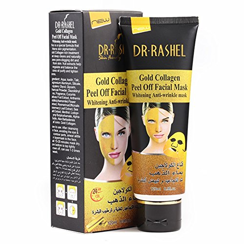 DR.RASHEL Gold Collagen Peel Off Facial Mask Whitening Anti Wrinkle 120 ml