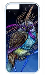 Fantasy Owl Art Thanksgiving Halloween Masterpiece Limited Design PC White Case for iphone 6 by Cases & Mousepads wangjiang maoyi