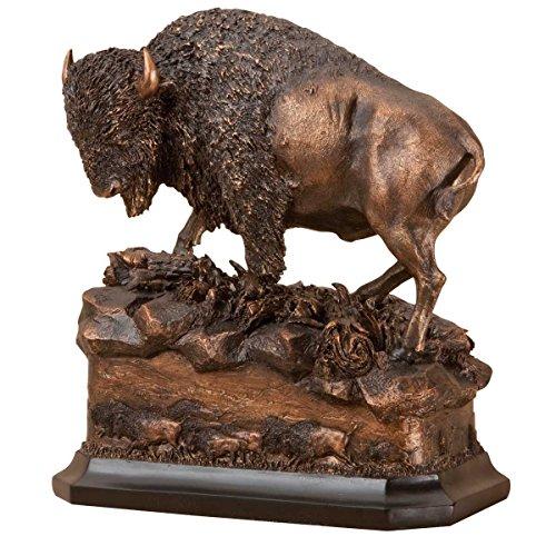 Big Sky Carvers Marc Pierce Buffalo American Icon Sculpture - Montana Bronze Sculptures