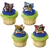 DecoPac 12 Count Teenage Mutant Ninja Turtles Cupcake Rings