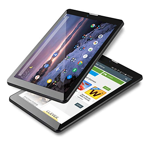 Indigi GSM Unlocked Android 9.0 Pie 4G LTE 7-inch TabletPC & Smartphone [Quad-Core + DUALSIM + 2GB RAM/16GB Storage] 2GB RAM/16GB Storage (BLK) + SD Card