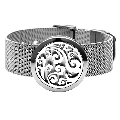 Stainless Aromatherapy Essential Diffuser Bracelet