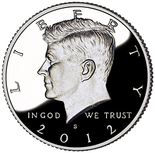 2012 S Kennedy 2012 silver kennedy proof deep cameo low mintage Half Dollar Very Good US Mint DCAM (Kennedy Mintage Dollar Half)