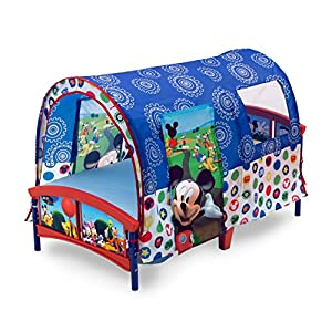 Delta Children Toddler Tent Bed, Disney Mickey Mouse 5