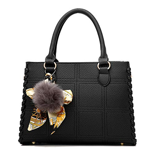 Da FLHT Tracolla PU Moda In Viaggio Borsa Grande Da Shopping Borsa Borsa Donna Immagazzinaggio Lavoro Femminile Di Borsa Di A Capacità Black Pelle Secchio Sacchetto Bag Bag Cosmetici Messenger t8nU6q8wzr