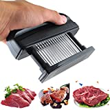 48 Ultra Sharp Stainless Steel Blade Knives Meat Tenderizer Professional Kitchen Tool for Steak Chicken Fish Beef Pork- Commercial Quality Kitchen Tool -TRY IT NOW!
