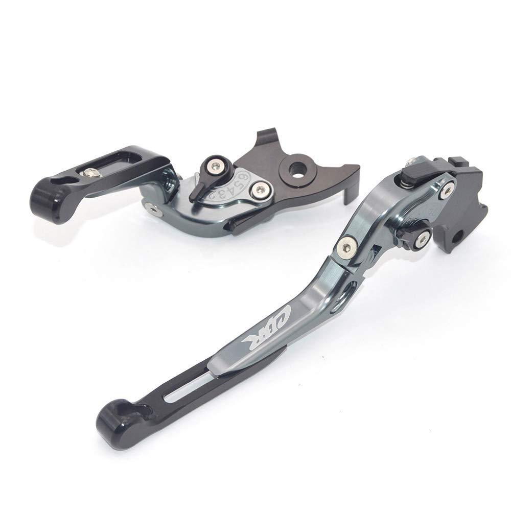 CNC 2003 Palancas de embrague de freno extensibles y plegables para Honda CBR600RR 2003-2006 CBR 954 RR 2002
