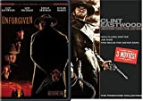 Icon Clint Eastwood Western Collection Unforgiven + High Plains Drifter / Joe Kidd / Two Mules for Sister Sara Movie Bundle pack