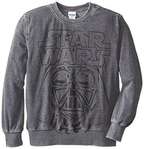 Star Wars Big Boys' Dome Shine, Charcoal Burnout, Large