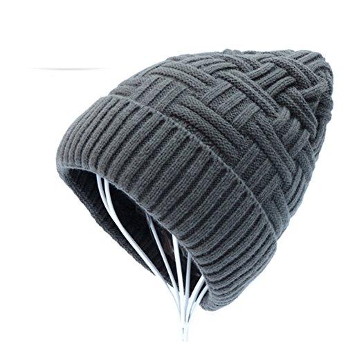 gorras felpa punto espesados de Gorras caps moda B lana AnZXAE