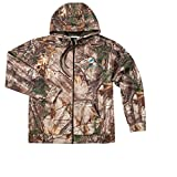 Dunbrooke Apparel NFL Miami Dolphins Boys Champion Realtree Xtra Polyester Tech Fleece Full Zip Hoodie, 5X, Camo