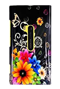 Graphic Case for Nokia Lumia 920 - Chromatic Flower (Package include a HandHelditems Sketch Stylus Pen)