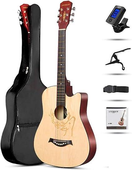 Boll-ATur - Guitarra de béisbol de 38 pulgadas para principiantes ...