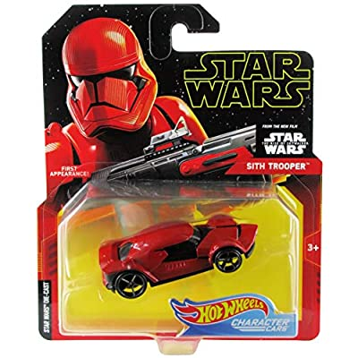 Hot Wheels Star Wars Character Cars Sith Trooper: Toys & Games