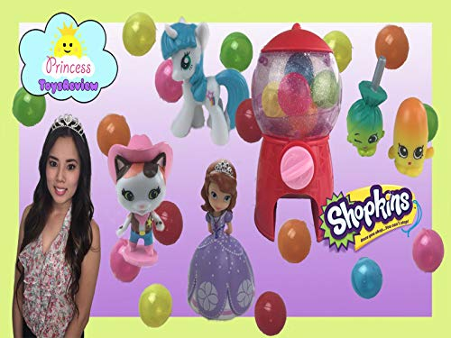 Clip: Shopkins Sweet Shop Unboxing and Pretend Play with Princess ToysReview -