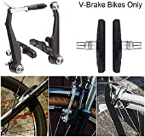 1 Pair New Durable Mountain  Bicycle Cycling V-Brake Pads Set Shoes Block Stop