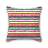 E Readers Seniors Best Deals - PILLO Stripe Pillowcase 16 X 16 Inches / 40 By 40 Cm Best Choice For Teens Boys,lover,bf,seat,play Room,boy Friend With Two Sides
