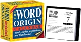 img - for The Word Origin: Words, Clich??s, Expressions, and Brand Names: 2010 Day-to-Day Calendar by Accord Publishing (2009-08-01) book / textbook / text book