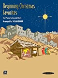 img - for Beginning Christmas Favorites: For Piano Solo and Duet book / textbook / text book