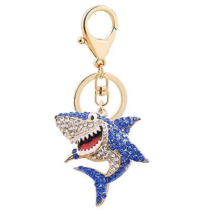 Gysad Llavero Forma de tiburón Metal llaveros Interesante y ...