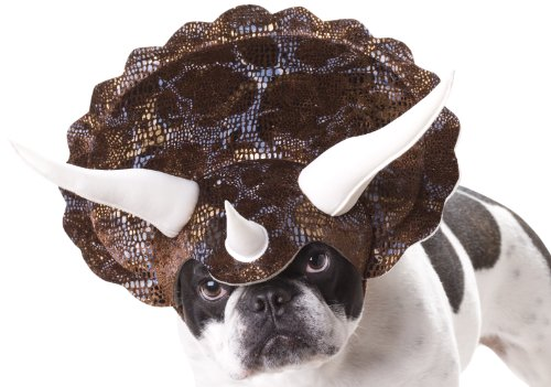 Animal Planet PET20104 Triceratops Dog Costume, (Dinosaur Dog Costume)