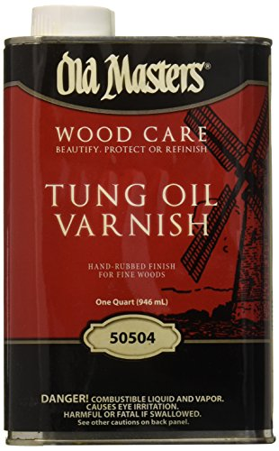 Old Masters 19399 50504 Tung Oil Varnish, 1 quart