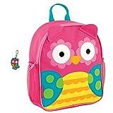 Stephen Joseph Girls Mini Sidekick Owl Backpack and Zipper Pull Review