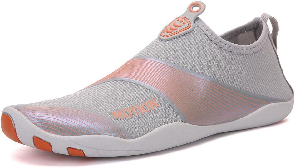 Y-PLAND Zapato recursivo de Pareja al Aire Libre, Zapatos de natación Ligera, Zapatos de Buceo Relacionados con Agua, Buceo rápido cómodos Zapatos de Playa-1_EU43