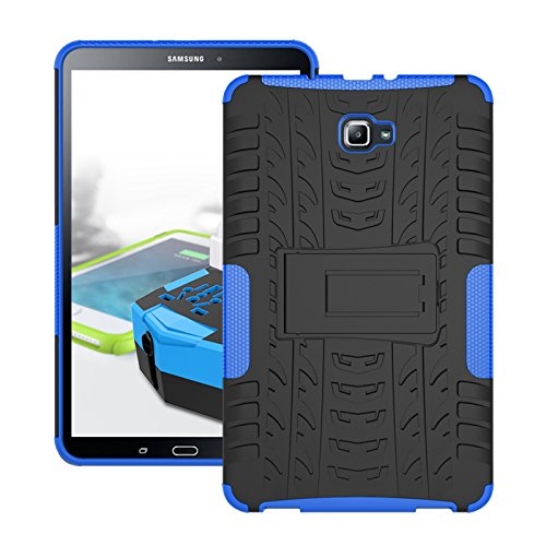 Cheap Bags, Cases & Sleeves Galaxy Tab A 10.1 Case, TOODAY Slim Hybrid Heavy Duty Armor Protection..