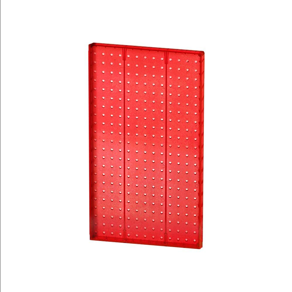 RED Pegboard Display