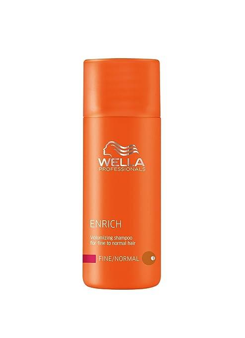 Wella Professionals - Champú Enrich Cabello Finos formato de viaje 50ml